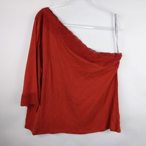 Jessica Simpson One Shoulder Top